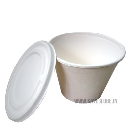 425 ml container with Lid  (Pack of 10)
