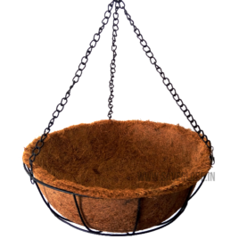 Coconut Coir Basket with Hanger – 12inch