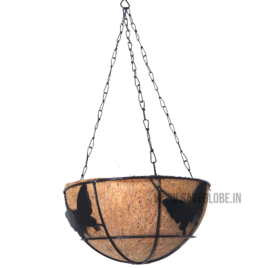 Coconut Coir Basket with Hanger – 10inch