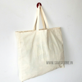 Grey Cotton Cloth Bag ( Pack of 20 )