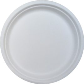 9 inch round Biodegradable Plate- Set of 50