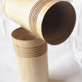 Bamboo Tumbler / Eco friendly Tumbler- Set of 4