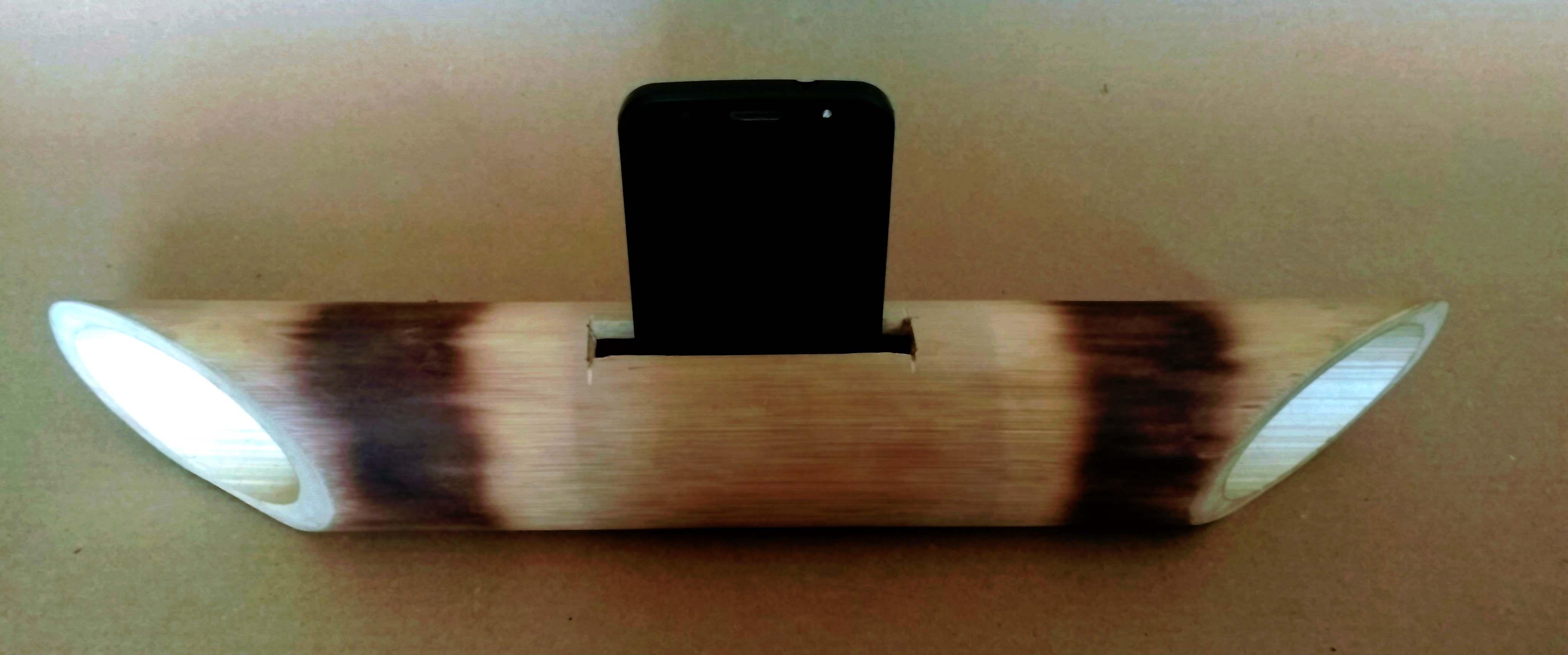 bamboo iphone speaker