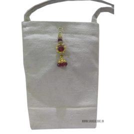 Eco friendly Canvas Mobile Pouch bag for ladies